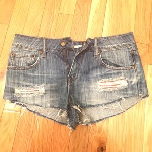 Sexy Heritage low rise Jean shorts